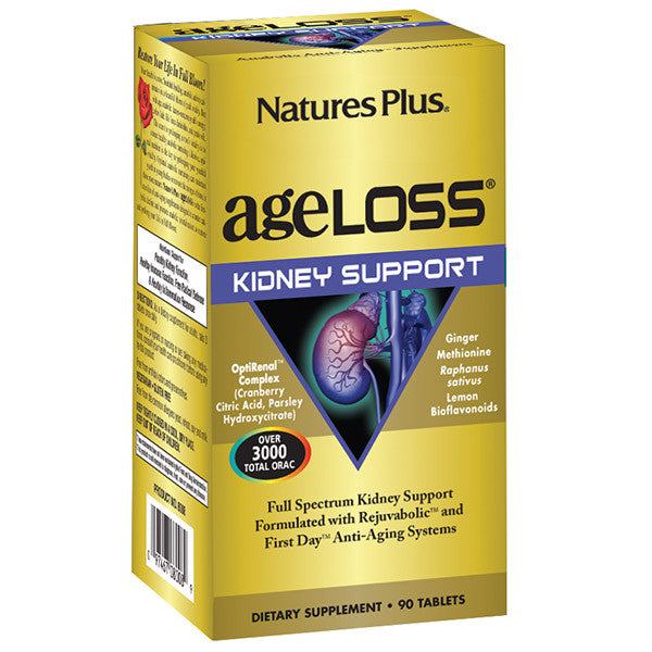 Nature's Plus AgeLoss Kidney Support 90T