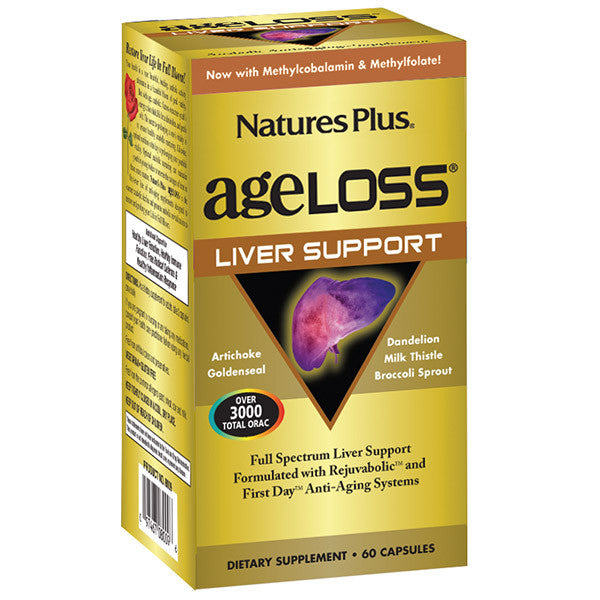 Nature's Plus AgeLoss Liver Support 90VC