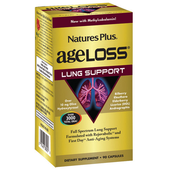 Nature's Plus AgeLoss Lung Support 90VC