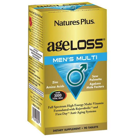 Nature's Plus AgeLoss Men's Multi 90T