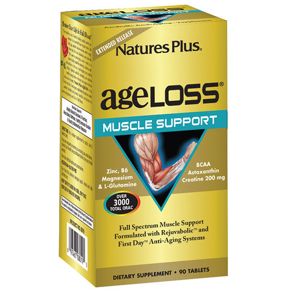 Nature's Plus AgeLoss Muscle Support Extended Release 90T