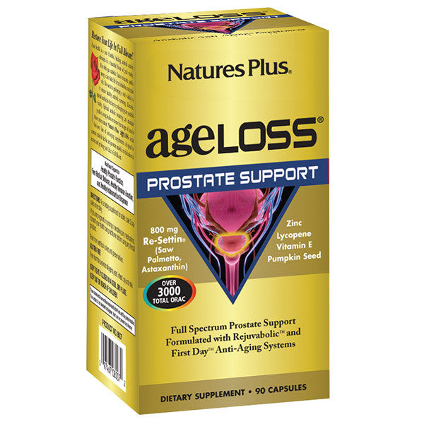 Nature's Plus AgeLoss Prostate Support 90VC
