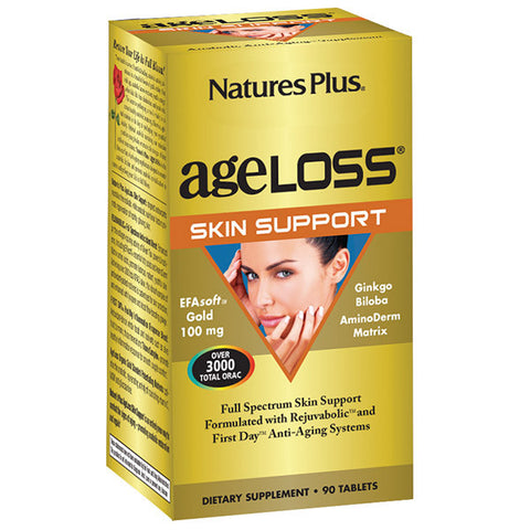 Nature's Plus AgeLoss Skin Support 90T