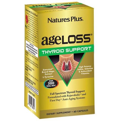 Nature's Plus AgeLoss Thyroid Support 60VC