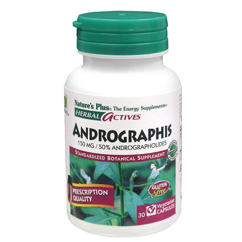 Nature's Plus Herbal Actives Andrographis 150mg 30VC