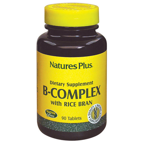 Nature's Plus B-Complex With Rice Bran 180T