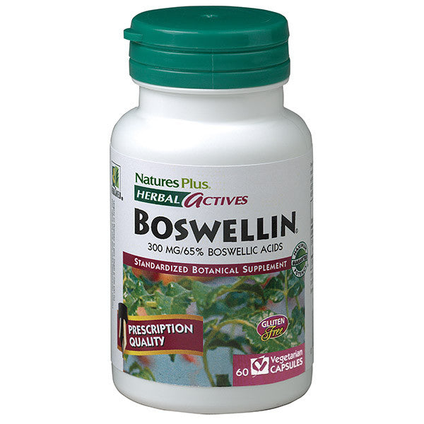 Nature's Plus Herbal Actives Boswellin 300g 60VC