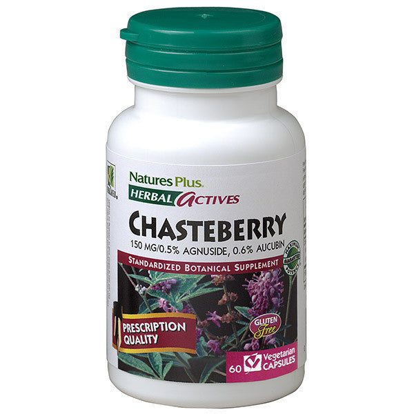 Nature's Plus Herbal Actives Chasteberry 150mg 60VC
