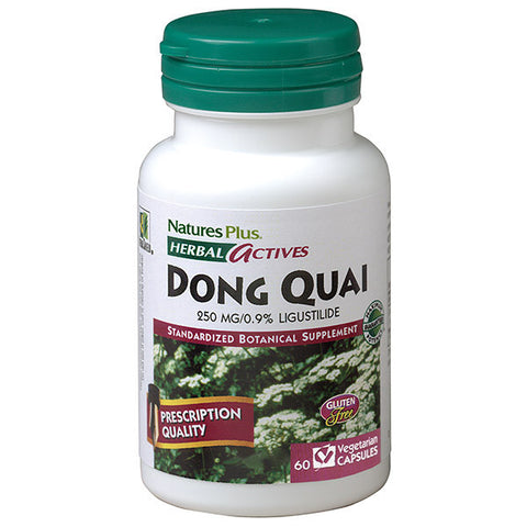 Nature's Plus Herbal Actives Dong Quai 250mg 60VC