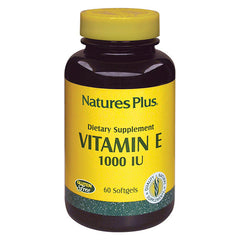 Nature's Plus Vitamin E 1000IU 60SG