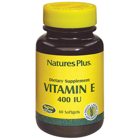 Nature's Plus Vitamin E 400IU 60SG