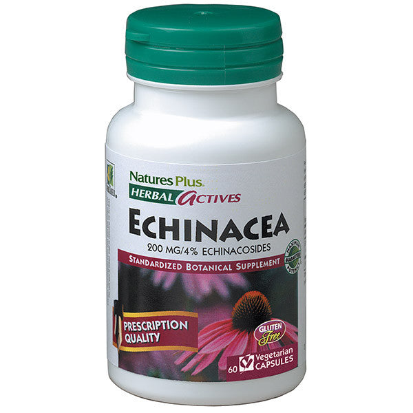 Nature's Plus Herbal Actives Echinacea 200mg 60VC