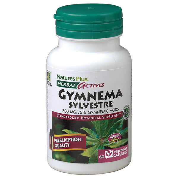 Nature's Plus Herbal Actives Gymnema Sylvestre 300mg 60VC