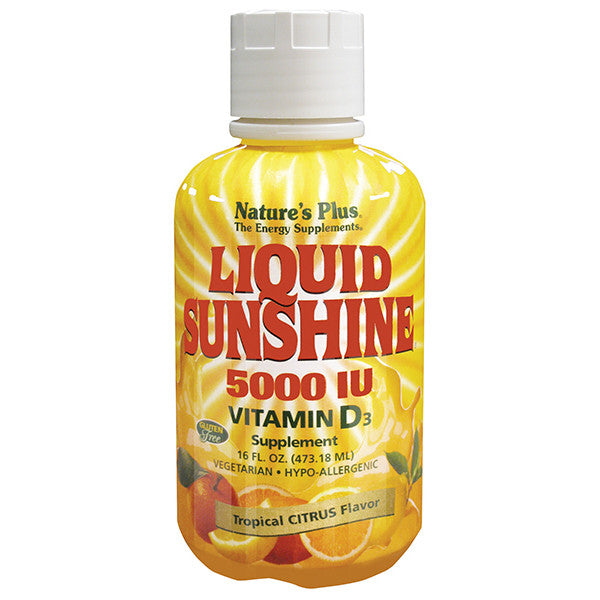 Nature's Plus Liquid Sunshine Vitamin D3 5000IU 16oz