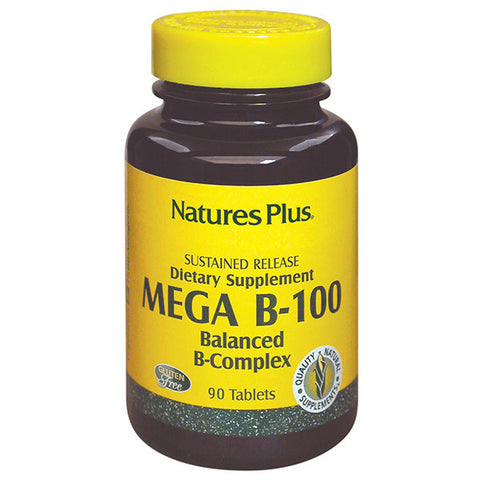 Nature's Plus Mega B-100 B Complex 60T
