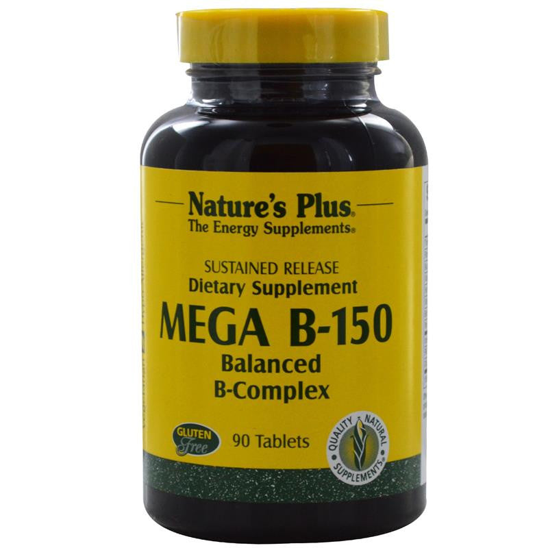 Nature's Plus Mega B-150 60 Tablets