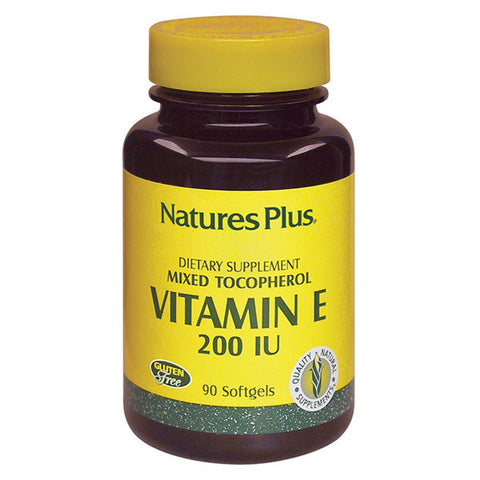 Nature's Plus Mixed Tocopherol Vitamin E 200IU 90SG