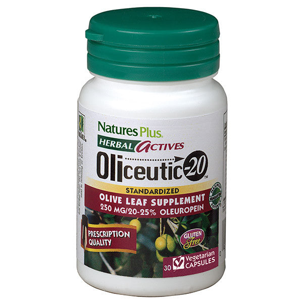 Nature's Plus Herbal Actives Oliceutic-20 250mg 30VC