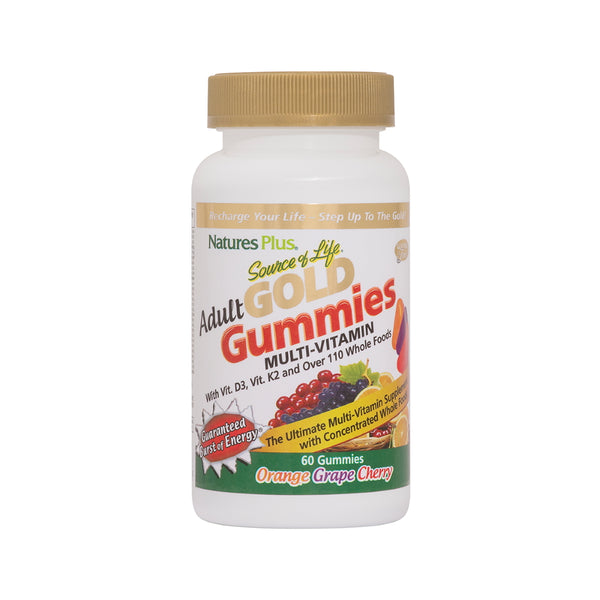 Nature's Plus Source of Life Gold Adult Multi Gummies 60ct
