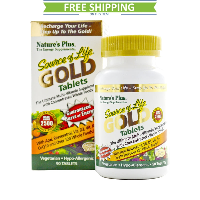 Nature's Plus Source of Life Gold 90T