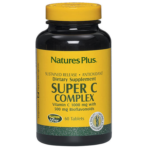 Nature's Plus Super C Complex Sustained Release 60T