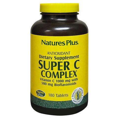 Nature's Plus Super C Complex 180T