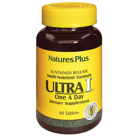 Nature's Plus Ultra 1 Multivitamin Sustained Release 60T