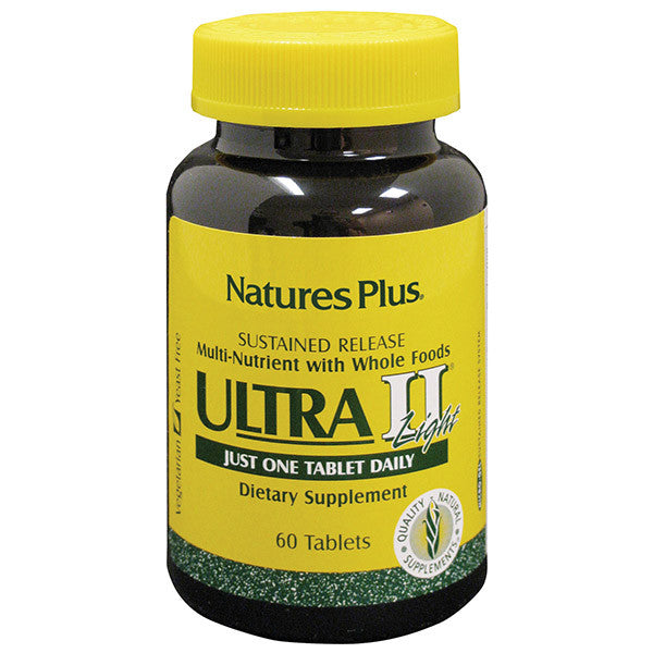 Nature's Plus Ultra 2 Light Multivitamin Sustained Release 60T - Discontinued