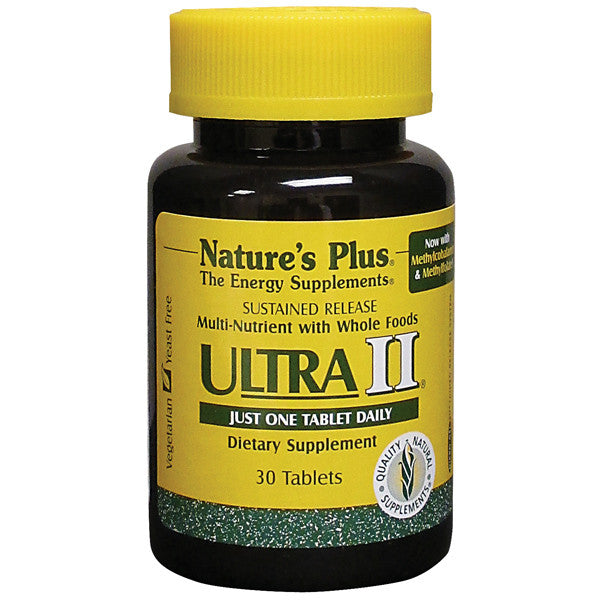 Nature's Plus Ultra 2 Multivitamin Sustained Release 30T
