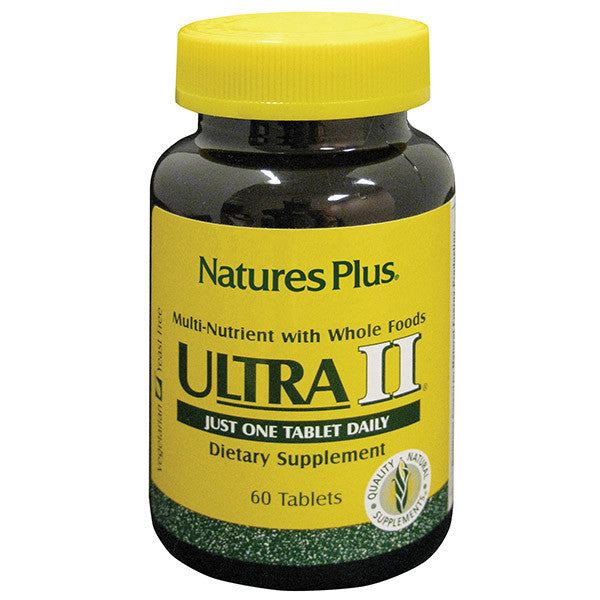 Nature's Plus Ultra 2 Multivitamin 60T - Discontinued