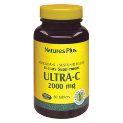 Nature's Plus Ultra-C 2,000 Sustained Release w/ Rose Hips 60T