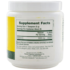Nature's Plus Vitamin C Micro-Crystals 8oz Powder