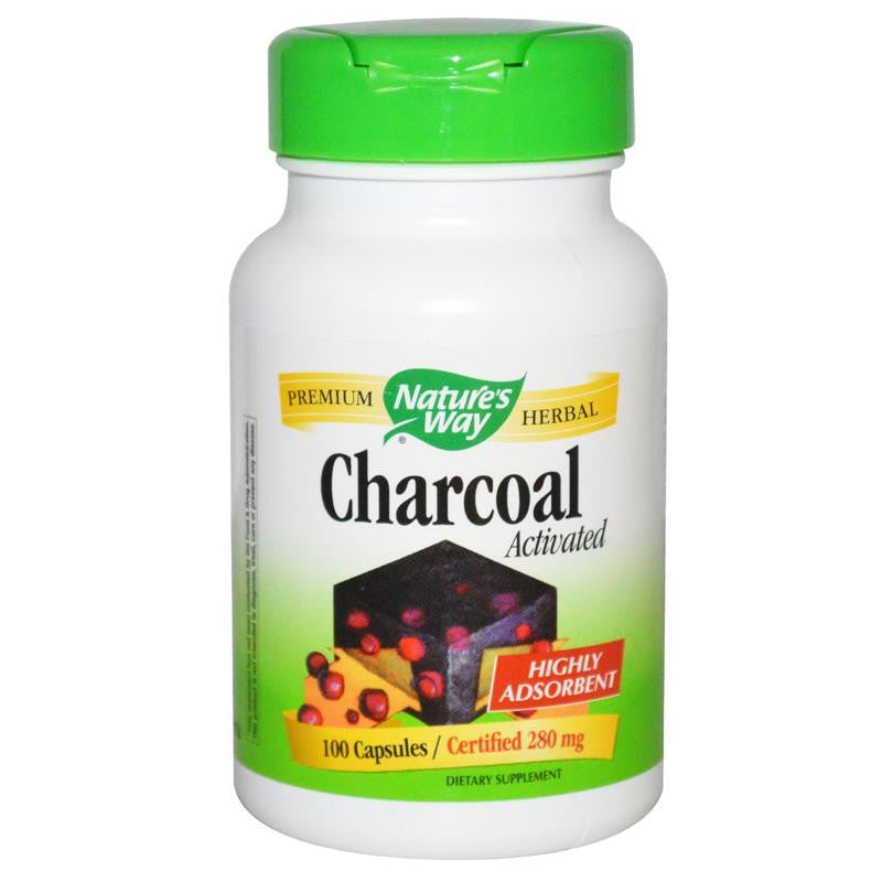Nature's Way Activated Charcoal 100C