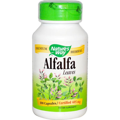 Nature's Way Alfalfa Leaves 100C