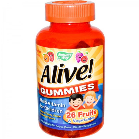 Nature's Way Alive Children's Gummy Multivitamin 90G