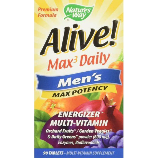 Nature's Way Alive Men's Max Potency Multivitamin 90T