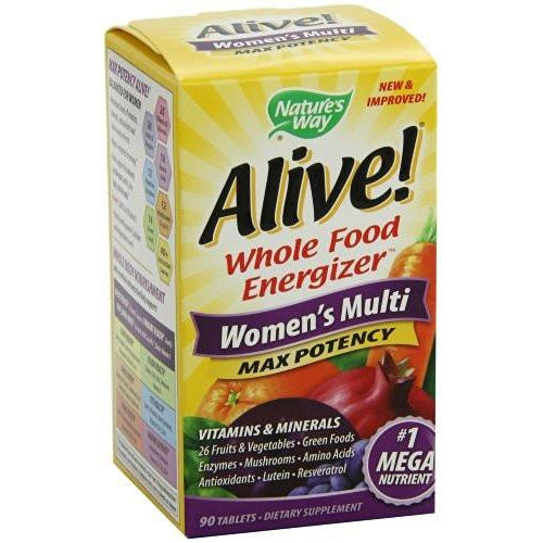 Nature's Way Alive Women's Max Potency Multivitamin 90T