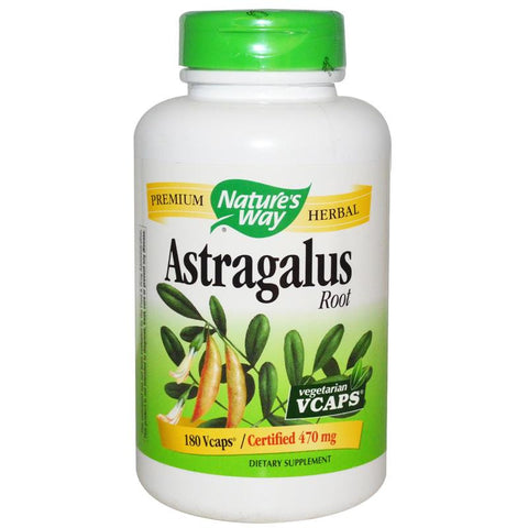 Nature's Way Astragalus Root 180VC
