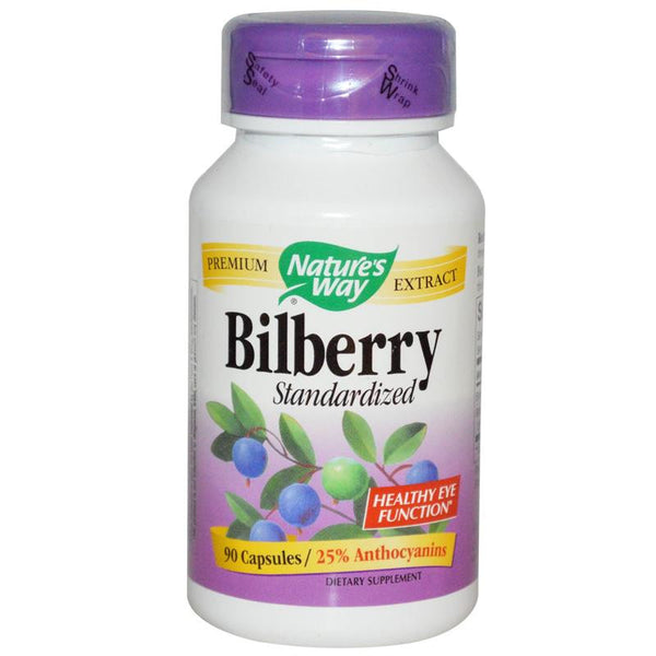 Nature's Way Bilberry Standardized 60C