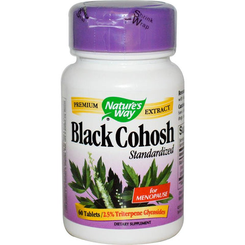 Nature's Way Black Cohosh Standardized 60T