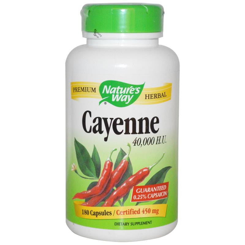Nature's Way Cayenne Pepper 100C