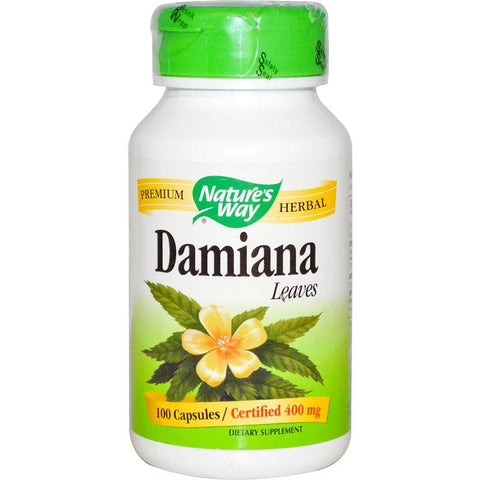 Nature's Way Damiana Leaves 100C