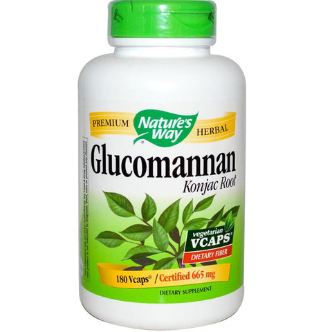 Nature's Way Glucomannan 100VC