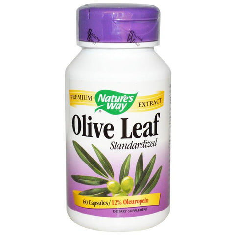 Nature's Way Olive Leaf Standardized 60C