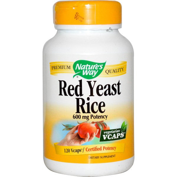 Nature's Way Red Yeast Rice 600mg 120VC