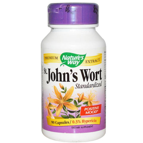 Nature's Way St. John's Wort Standardized 90C