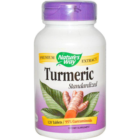 Nature's Way Turmeric Standardized 60T