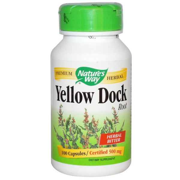 Nature's Way Yellow Dock Root 100C