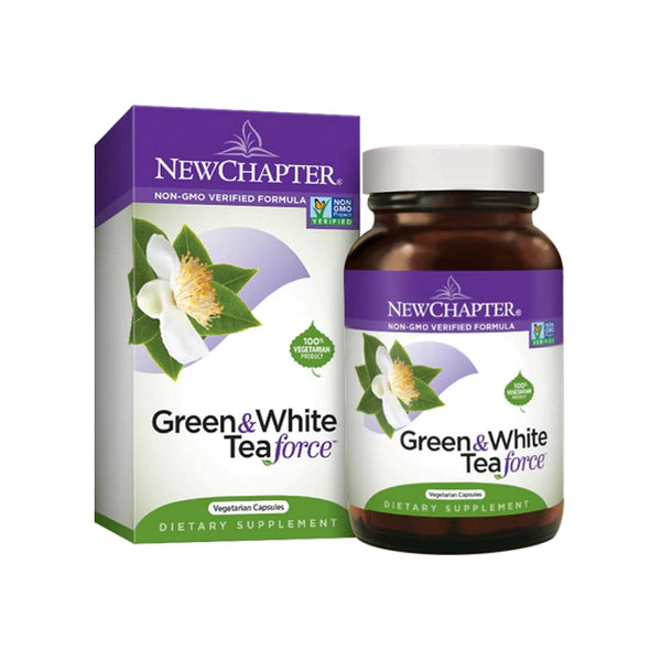 New Chapter Green & White Tea Force 60VC