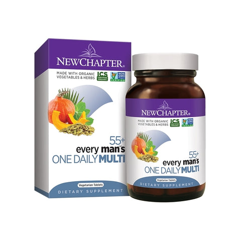 New Chapter Every Man's 1 Daily 55+ Multivitamin 48T